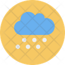 Snow Cloud Snowfall Icon