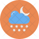Cloud Snowfall Snow Flake Icon