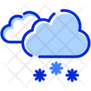 Snowfall Clouds Snow Icon
