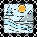 X Snowfall Icon