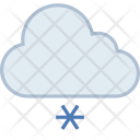 Light Snow Snowfall Icon