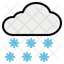 Snowfall Snow Cloud Icon