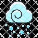 Snowfall Snow Icon