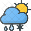 Snowfall in day Icon