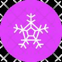 Snowflake Snow Xmas Icon