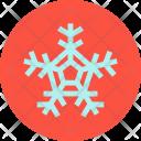 Snowflake Snow New Icon