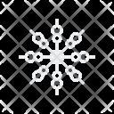 Snowflake Flake Snow Icon