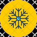 Snowflake Snow Frost Icon