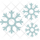 Snowflake Cloud Rain Icon