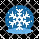 Ice Flakes Snowflake Icon