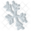 Snowflake Snow Crystal Forecast Icon