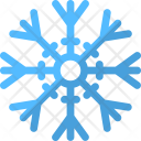 Snowflake Frost Crystal Icon