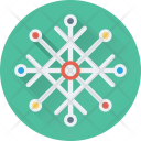 Snowflake Winter Snow Icon