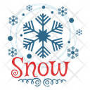 Snowflake Snowflake Logo Snowflake Badge Icon