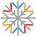 Snowflake Ice Crystal Icon