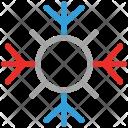 Snowflake Ice Crystal Icon