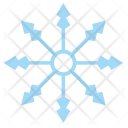 Ice Snowflake Frost Icon