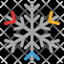 Snowflake Crystal Design Icon