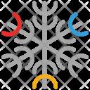 Snowflake Detailed Design Icon