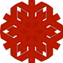 Snowflake Christmas Snowflakes Icon