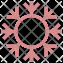 Snowflake Winter Decoration Icon