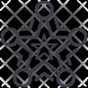Snowflake Christmas Decoration Icon