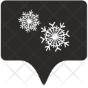 Snow Tag Place Icon