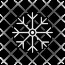 Snowflake Snowfall Decoration Icon