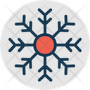 Christmas Flake Crystal Flake Ice Flake Icon
