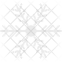 Snowflake Winter Decoration Snow Falling Icon