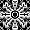 Snowflake Winter Snow Falling Icon