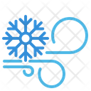 Snowflake Wind Weather Icon
