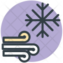 Snowflake Winds Weather Icon