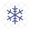 Snowflake Crystal Winter Icon