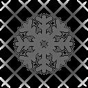 Winter Christmas Freeze Icon
