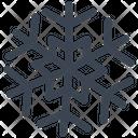 Cold Freeze Snowflake Icon