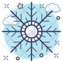 Snowflake Snowdrift Snow Crystal Icon