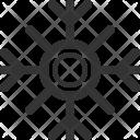 Snowflake Holidays Feast Icon