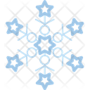 Christmas Icicle Snow Icon