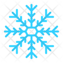 Christmas Flakes Snow Icon