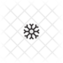 Snowflake Snow Crystal Icon