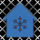 Snowflake House Smart Icon