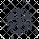 Big Snow Snow Snowflake Icon
