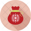 Snowflake Bag Gift Icon