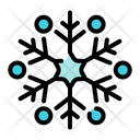 Snowflake Ice Ornament Icon