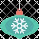 Snowflake Ball Decoration Icon