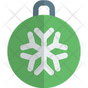 Snowflake Bauble Ball Icon