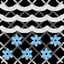 Snowflake Cloud Icon