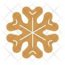 Snowflake gingerbread Icon