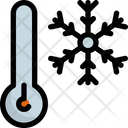 Snowflake temperature Icon